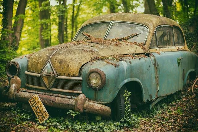 staré auto