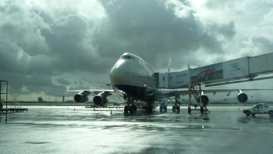 letadlo na ploše
