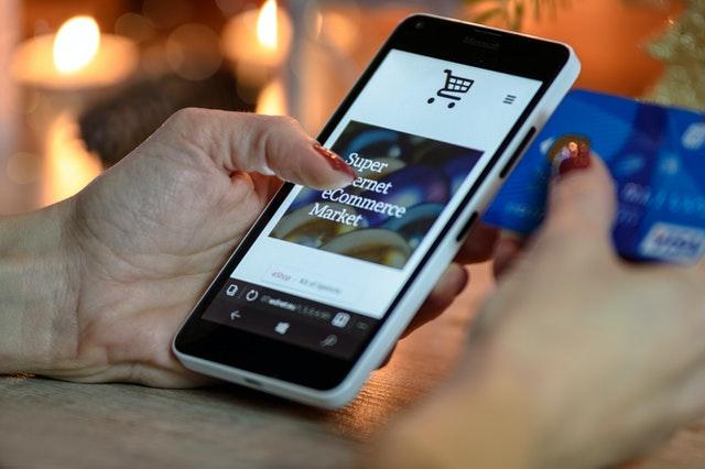 nákup na internete